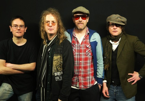 L-R: Chris, Johnny, Simon & Richard